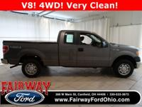 Recent Arrival***2010 Ford F-150 XL Super Cab 4WD 145