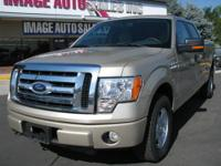2010 Ford F150 SuperCrew XLT 4x4 with 54 K miles!! ONE