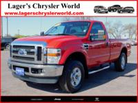 Clean, One-Owner, Accident Free 2010 Ford F-250SD XLT