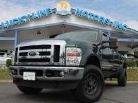2010 FORD F-250 ENVIRONMENT-FRIENDLY WITH TAN CLOTH