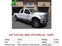 2010 Ford F350 SuperDuty XL Truck White Platinum