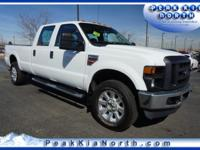 Oxford White 2010 Ford F-350SD XL 4WD TorqShift 5-Speed