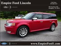Options:  2010 Ford Flex Limited|Awd Limited 4Dr