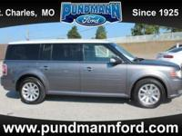 Call Now,  Sterling Gray Metallic 2010 Ford Flex SEL
