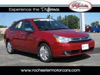 2010 Ford Focus SEL, FWD with 36,456 miles. This two
