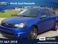 World Ford Pensacola presents this 2010 FORD FOCUS 2DR