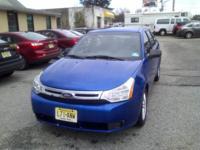 2010 Blue Ford focus, 4 door , automatic 65k Miles, ac,
