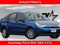 Blue Flame Metallic 2010 Ford Focus SE FWD 5-Speed