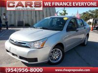 2010 FORD FOCUS SE SEDAN WITH ONLY 63,975 ORIGINAL