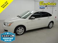 Recent Arrival! New Price! Clean CARFAX. Focus SEL, 4D