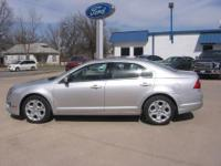 2010 Ford Fusion SE, Silver, 4cyl, Automatic, Excellent