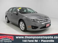 This 2010 Ford Fusion SE, delivers contemporary
