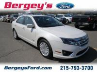 2010 Ford Fusion Hybrid Sedan 4DExt. Color: WhiteStock: