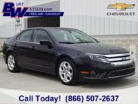 2010 Fusion SE **Moonroof/Sunroof** This vehicle also