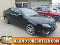 Recent Arrival! 2010 Ford Fusion SE Black 6-Speed