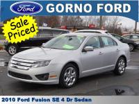 2010 FORD FUSION SE. CARFAX 1-OWNER VEHICLE! SOLD NEW