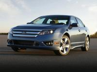 Clean CARFAX. Recent Arrival! 2010 Ford Fusion SE FWD