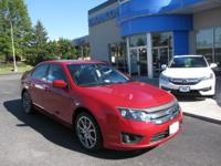 2010 Ford Fusion SE In Red Candy Metallic Tinted