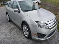 Options:  2010 Ford Fusion Se|Silver|Stock No: