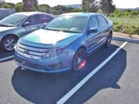 2010 Ford Fusion SE Blue FWD 6-Speed 2.5L I4 Recent