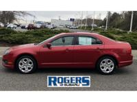 The Ford Fusion is a very clean, mid sized sedan with