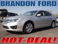 This one owner 2010 Ford Fusion SE with very low miles