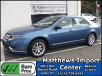Sport Blue Metallic 2010 Ford Fusion SEL AWD 6-Speed