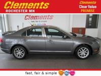Options:  2010 Ford Fusion 4Dr Sdn Sel Awd|Roof - Power