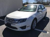 2010 FORD FUSION SEL AWD. FOUR DOOR. WITH 112441 MILES.