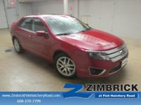 Options:  2010 Ford Fusion 4Dr Sdn Sel Fwd|4 Cylinder