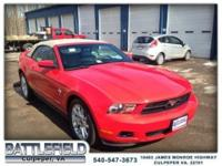 ***CONVERTIBLE V6 PREMIUM w/PONY PACK***LEATHER