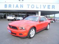Options Included: N/A*** Convertible Mustang **