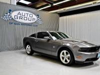 2010 FORD MUSTANG GT: STERLING GREY METALLIC/ CHARCOAL