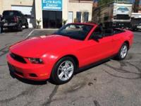 This 2010 convertible Mustang is as sporty as it gets,
