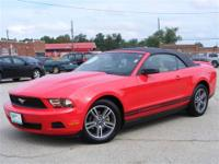 Here is a beautiful Mustang convertible at a great