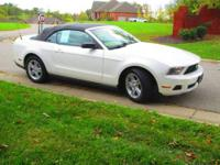 Very clean non-smoker 2010 Ford Mustang convertible in