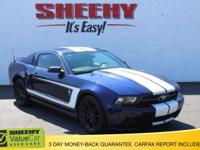 Grabber Blue 2010 Ford Mustang V6 RWD 5-Speed Automatic
