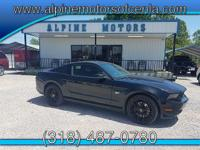 Looking for a family vehicle? This Ford Mustang is
