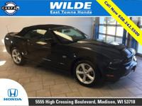 2010 Ford Mustang GT Black Leather Heated Seats,