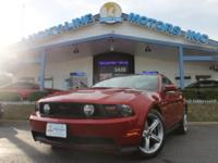 We have a gorgeous 2010 Ford Mustang Gt that just
