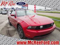 Exterior Color: red, Body: Convertible, Engine: 4.6L V8