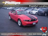 Options:  2010 Ford Mustang Gt|Red|4.6L V8. Detroit