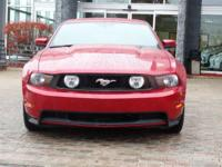 Options:  2010 Ford Mustang Gt|Red Candy Metallic
