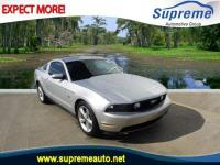 Silver 2010 Ford Mustang GT RWD 5-Speed Automatic 4.6L