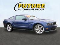 Come see this 2010 Ford Mustang GT. Its Manual