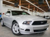 This 2010 Ford Mustang 2dr 2dr Coupe V6 features a 4.0L