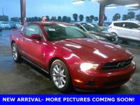 Red Candy Metallic w/Tinted Clearcoat 2010 Ford Mustang