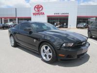 New Price! 2010 Ford Mustang V6 4.0L V6 Black CARFAX
