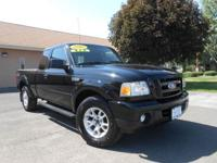 2010 FORD RANGER SPORT 4X4! 4.0L V6! POWER WINDOWS,