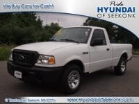 Set your sights on this white 2010 Ford Ranger. This